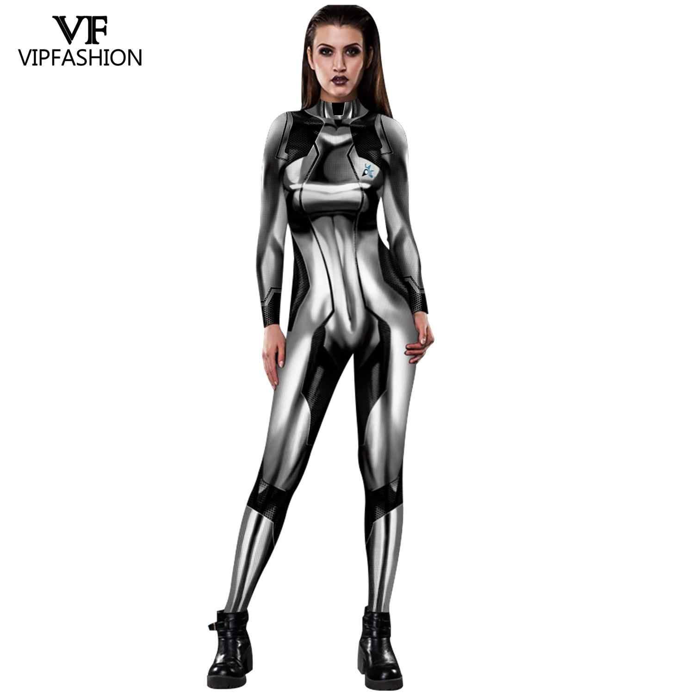 VIP Fashion Metroid Samus Aran juego héroe disfraz cosplay de mujer Samus cero traje, traje de poder.