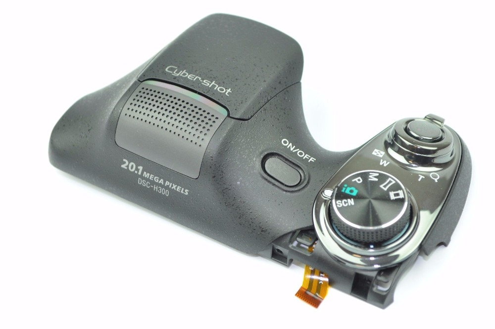 FREE SHIPPING ! 90%New For Sony Cyber-shot DSC-H300 h300 Top Cover With Shutter Button Dial Repair Part