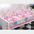 Mi primera cumpleaños tema baby boy baby girl birthday party supplies 10 persona party decoration set vajilla platos de papel tazas