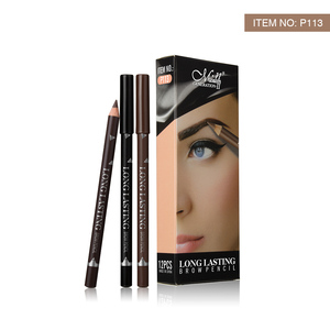 Image 5 - MENOW P113 12Pcs Eyeliner Pencil for Women Waterproof Sweatproof lasting Eyebrow Eye Liner Pencils Makeup Tools Easy to color