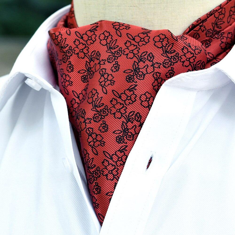 Apparel Accessories Fashion Scarf Flower Casual Print Tie Man Shinny Tie Strip Suit Business Shirt Towel Female Scarf Bib Tie Free Ship _3.27