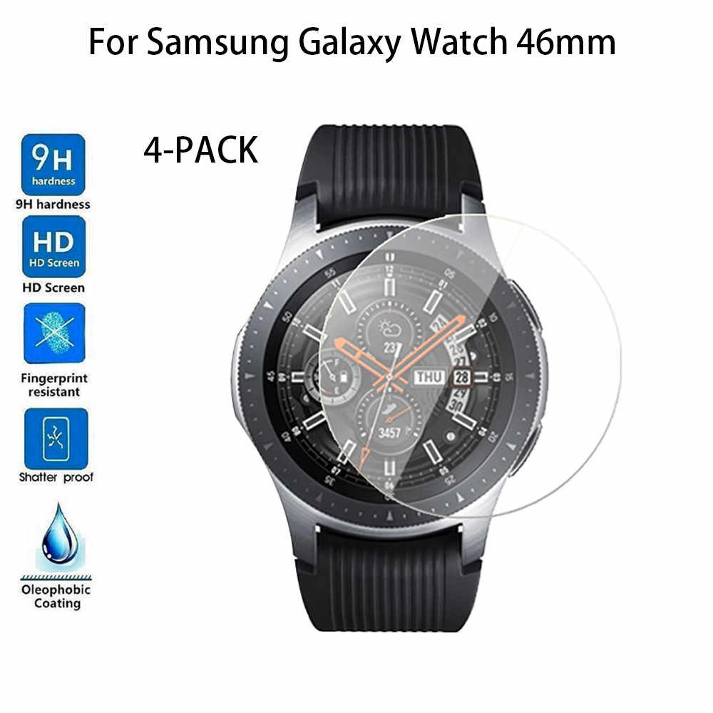 Tempered Glass Screen Protector For Samsung Galaxy Watch 46mm for wearable devices smartwatch relogios drop shopping 30