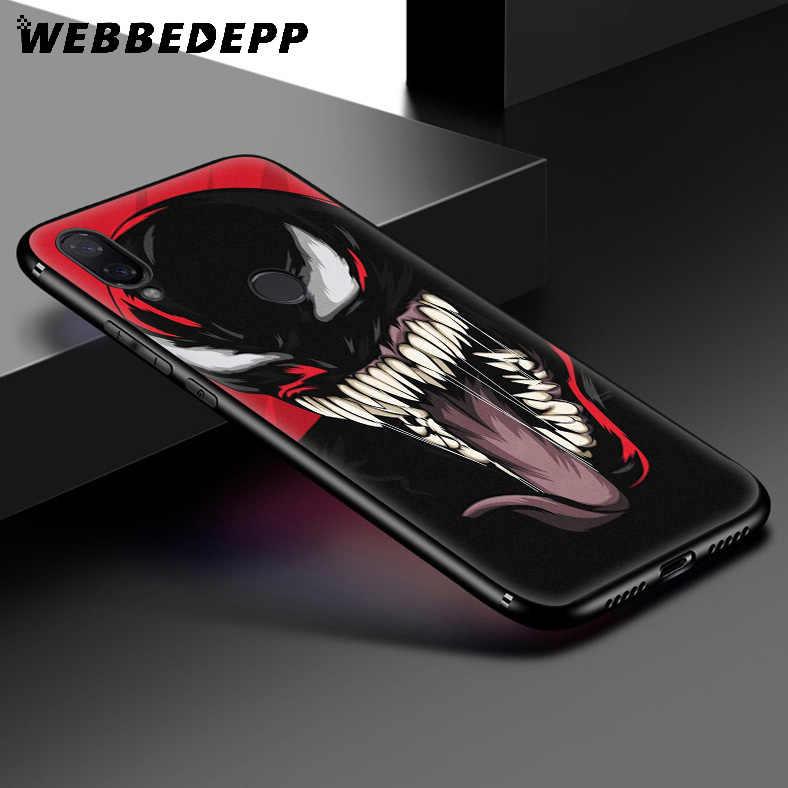 WEBBEDEPP Marvel Süper Kahramanlar Veom Yumuşak Kılıf Xiaomi Redmi K20 7A 4A 4X5 5A 6 6A S2 Not 8 4 4X5 6 5A 7 Pro Artı Başbakan