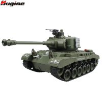 RC Tank US M26 15 Channel 1/20 Pershing Snow Leopard Main Battle Tank Model With Shoot Bullet Children Christmas Gifts