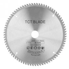 цена на 80T Teeth Cemented Carbide TCT Circular Saw Blade Wood Cutting Tool Bore Diameter 30mm
