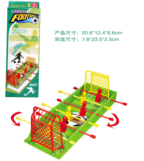 Finger Football Shot Game Table Top Board Family Office Soccer
