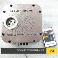 Oferta Motor de luz de fibra óptica de 27 W LED con rueda parpadeante y efecto de disparo Control remoto RF