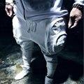 2016 Новый Мужчины Случайный Луч Брюки Модные Штаны Большие Карманы Брюк Хип-Хоп Панк Гарем Брюки Мужские Бегунов
