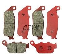 Motorcycle Ceramic Front Rear Brake Pads For Honda CBR250RR 2011 2012 2013 CBR250 MC22 CBR400 NC23