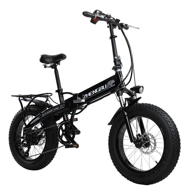falten elektro bike 20 zoll 4 0 schnee fett reifen 36 v li. Black Bedroom Furniture Sets. Home Design Ideas