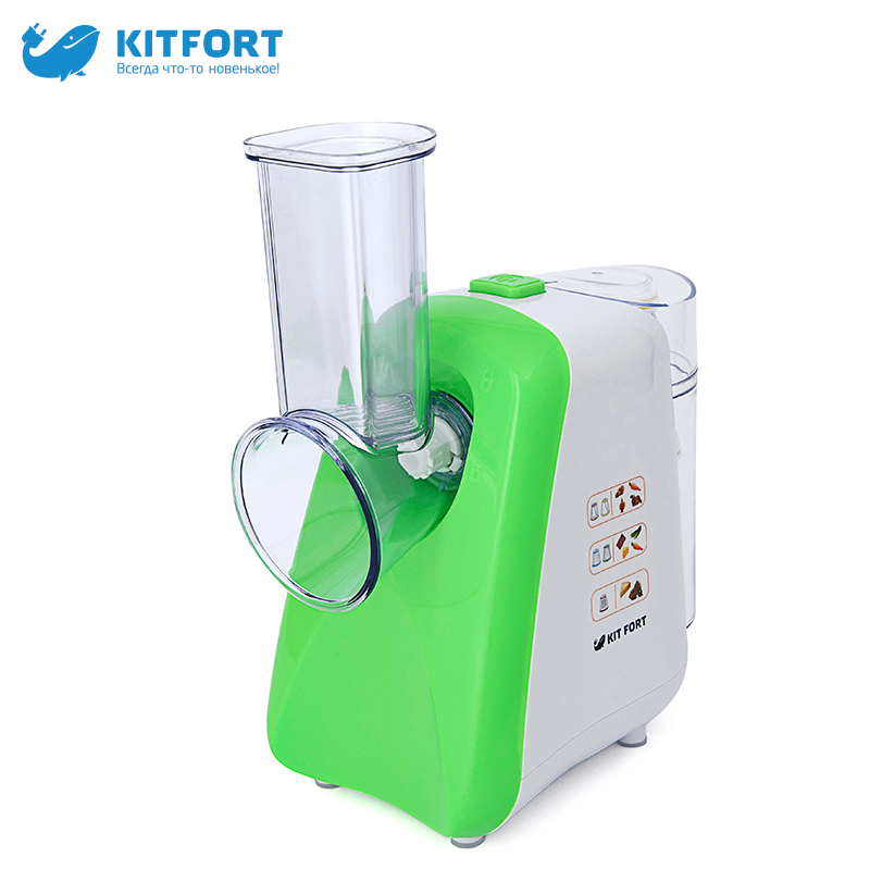 Kitfort KT-1318 Vegetable cutter meat grinder juicer vegetable cutter zipper dumpling wrapper cutter