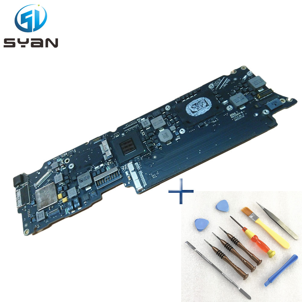 A1465 Motherboard for font b Macbook b font Air 11 6 2 0 GHZ 8 GB