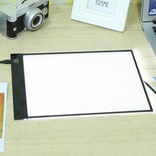 A4 LED Digital Graphic Tablet Writing Painting Drawing Tablet Tracing Panel Luminous Stencil Board Display LED Copy Pad Dimmable clique sc dylan 18 copy solid floor display