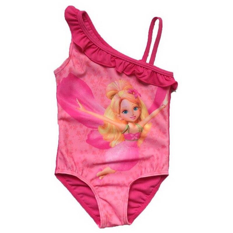 ФОТО retail girls 2016 1pc swimwear bikini meisje children