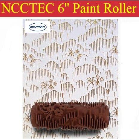 Aletler'ten Boya Aleti Setleri'de 6 ''NCCTEC yumuşak kauçuk dekoratör rulo ÜCRETSIZ gönderim | 150mm duvar boya silindiri araçları title=