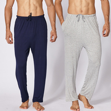 BZEL 2019 Sleep Bottoms Men Pajamas Lounge Pants Sleepwear M