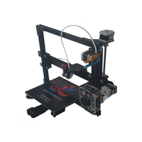 AIBOULLY 2017 New Desktop DIY Kit 3D Printer Classic imprimante 3d Aluminium Electronic Stampante 3d 2 Roll Filament As Gift