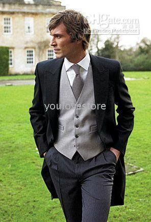 Western Style Wedding Suit , Men's Wedding Suit , Desinger Wedding Suits Men Wedding Suit,Free Shipping  365