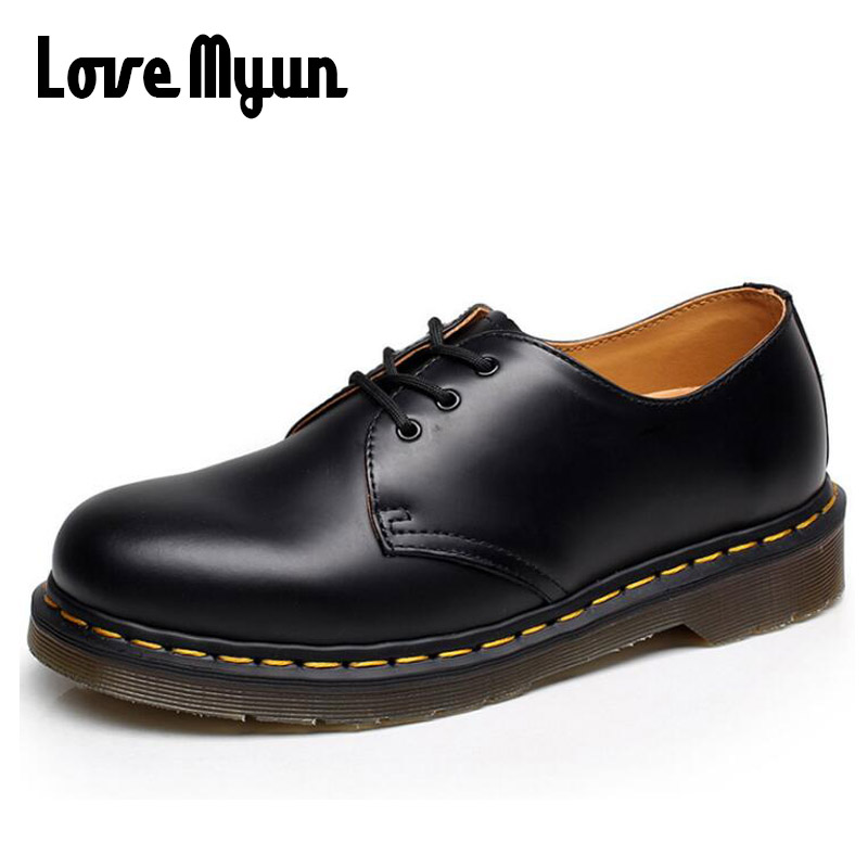 Genuine leather Shoes for Ladies Women Low Boots Working Shoes Army Boot Zapatos Ankle Outdoor Shoes big size 43 PP 0505