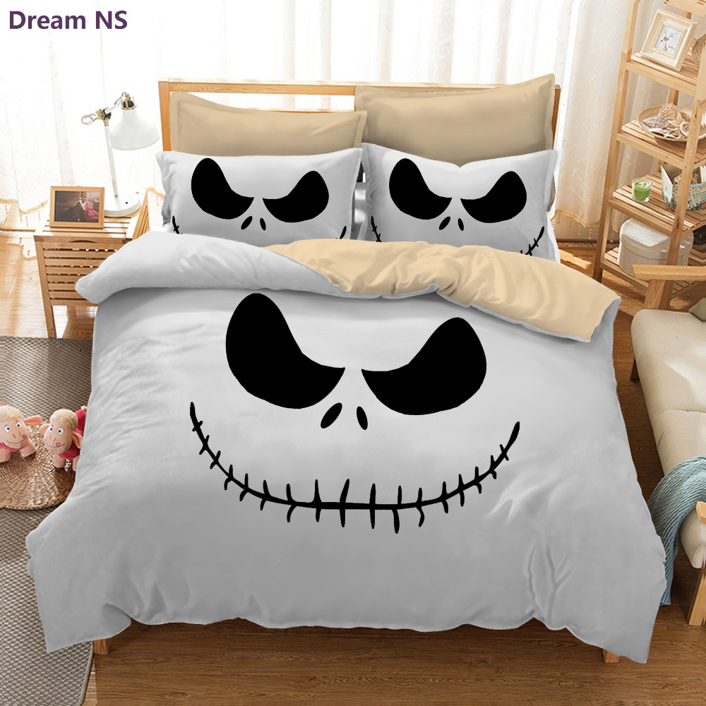 Dream ns halloween night bedding set super king queen size - King size bed sheet set ...