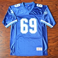 MM MASMIG Billy Bob #69 Football Jersey Cosido Azul-Varsity Blues S M L XL XXL XXXL 4XL