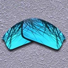Синие поляризованные Сменные линзы для Oakley колпак солнцезащитные очки