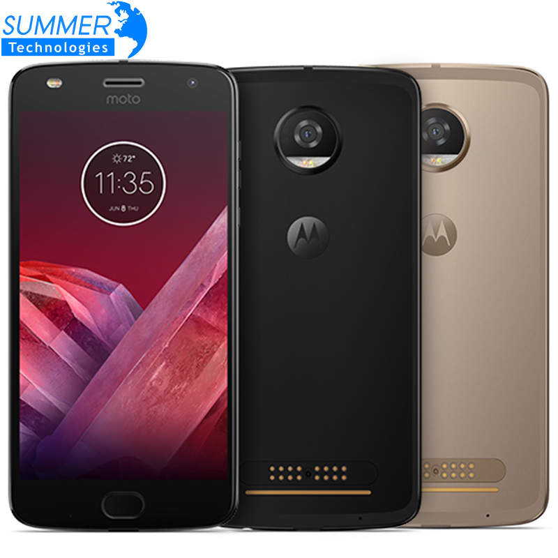 Original Motorola MOTO Z2 PLAY Mobile Phone Octa Core 4GB RAM 64GB ROM 4G LTE 5.5 inch 12MP Dual SIM 1920x1080 S