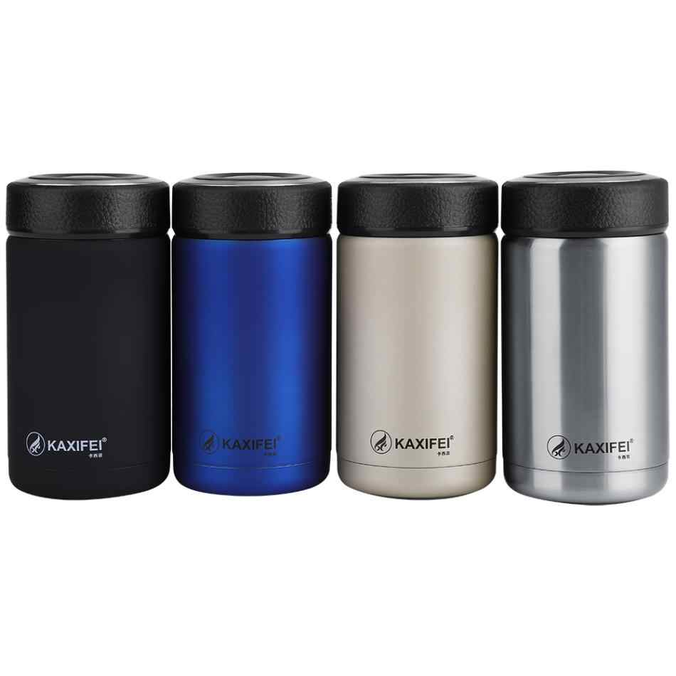 e4c6d8ca26b KAXIFEI Men Gift Thermos Bottles 400ml Insulated Cup 304 Stainless Steel  Thermo Mug Water Bottle Vacuum