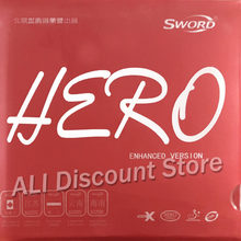 Sword Hero New Enhanced Version Pips-In Table Tennis PingPong Rubber With Sponge(China)
