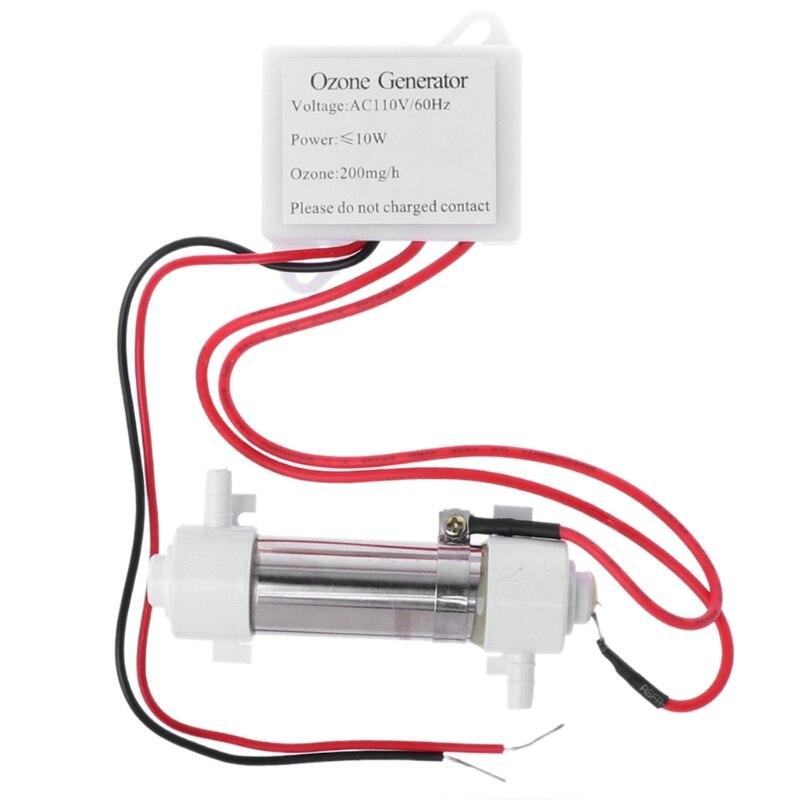 2019 AC110V 200 mg трубка озоногенератора для DIY Очистка воды Воздухоочистители дома