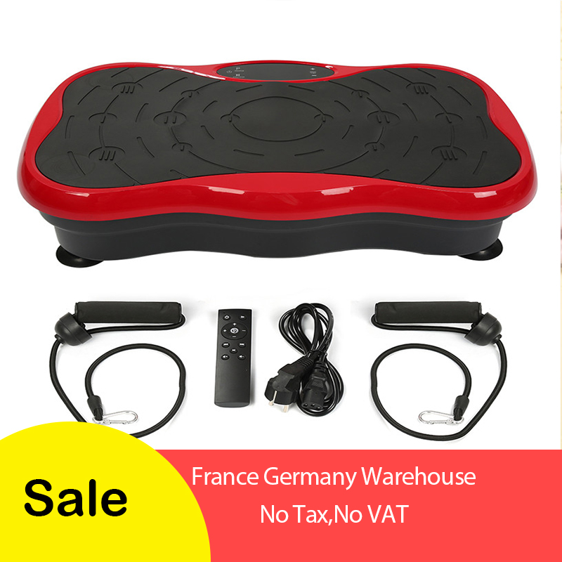 Vibration Fitness Massager Fitness Equipment power vibration plate weight loss machine home muscle exercise body
