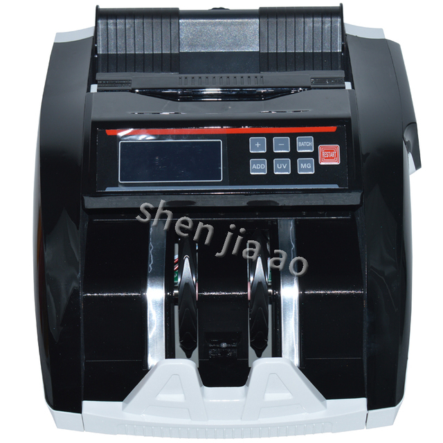 Money Counter electric Counting Machine Counterfeit Detector Bill Cash Money register,Currency detector 110V/220V