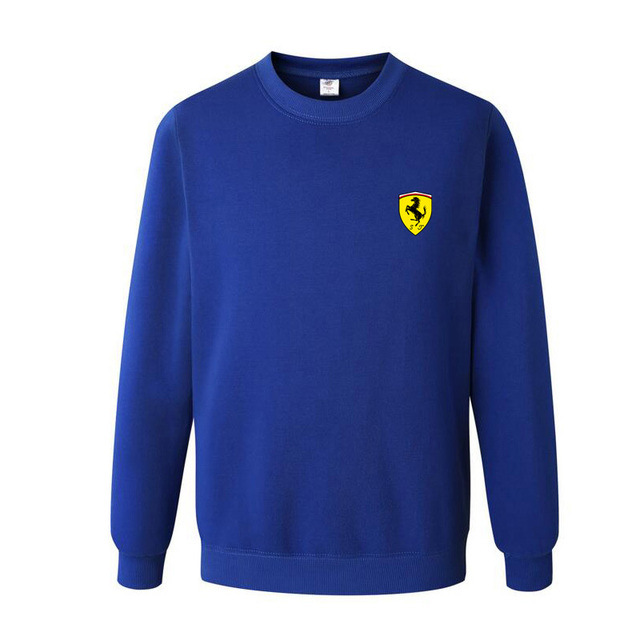 Sweatshirt For Men With Ferrari Logo (4 Colors)