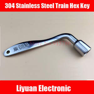 Key Train Triangle-Key Key/railway-Train Door 304-Stainless-Steel Hex Compatible 1pcs