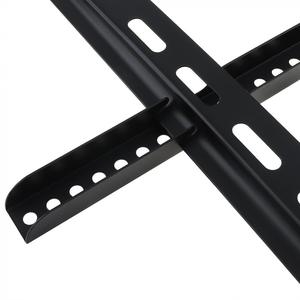 Image 3 - 범용 45KG 1.5mm 콜드 라이징 보드 TV 벽 마운트 브래킷 플랫 패널 TV 프레임 26   60 인치 LCD LED 모니터 플랫 팬