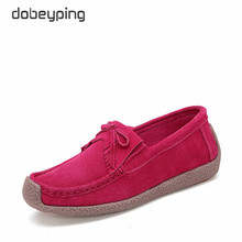 dobeyping New Spring Autumn Shoes Woman Slip On Women Sneakers Genuine Leather Flats Fringe Ladies Loafers Moccasins Female Shoe