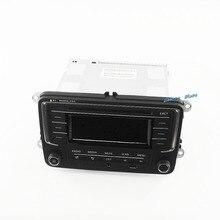 OEM неиспользованный автомобиля Радио с USB AUX MP3 SD карты 3ad035185 Fit VW Гольф Jetta MKV Tiguan Passat CC новый поло 6R