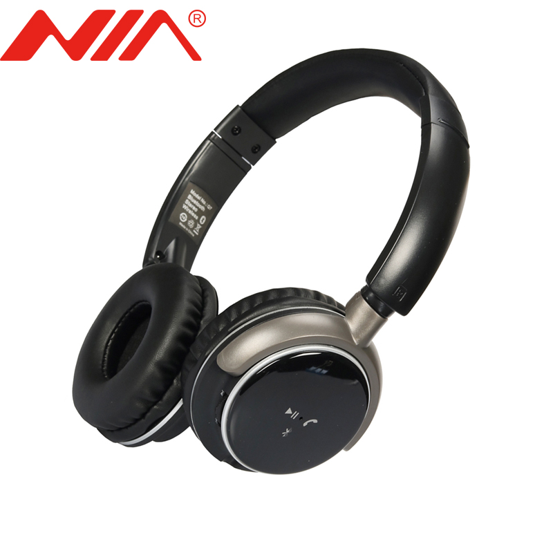 CSR V4.0 Original NIA Q7 Stereo Bluetooth Headphone Wireless Sport Foldable Headsets Earphone сварочный аппарат инверторный bort bsi 220s
