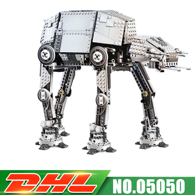 DHL 1167pcs Lepin 05050 UCS Series AT-AT the Robot With Electric Remote Control Building Blocks Toys Compatible 10178 dhl fast shipping 1990pcs lepin 05047 ucs ewok village building blocks juguete para construir bricks toys compatible 10236