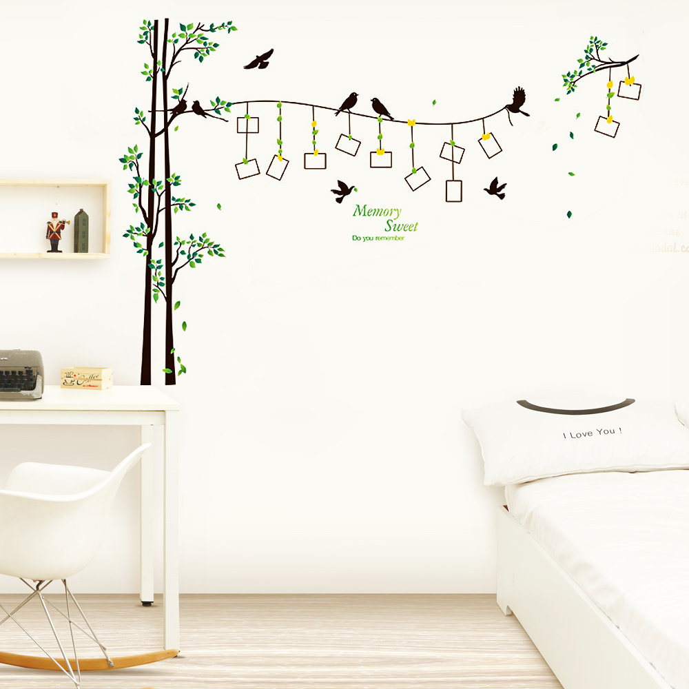 online get cheap family tree wall decor aliexpress com alibaba family tree wall stickers for living room bedroom sofa backdrop tv background removable wall decor sticker