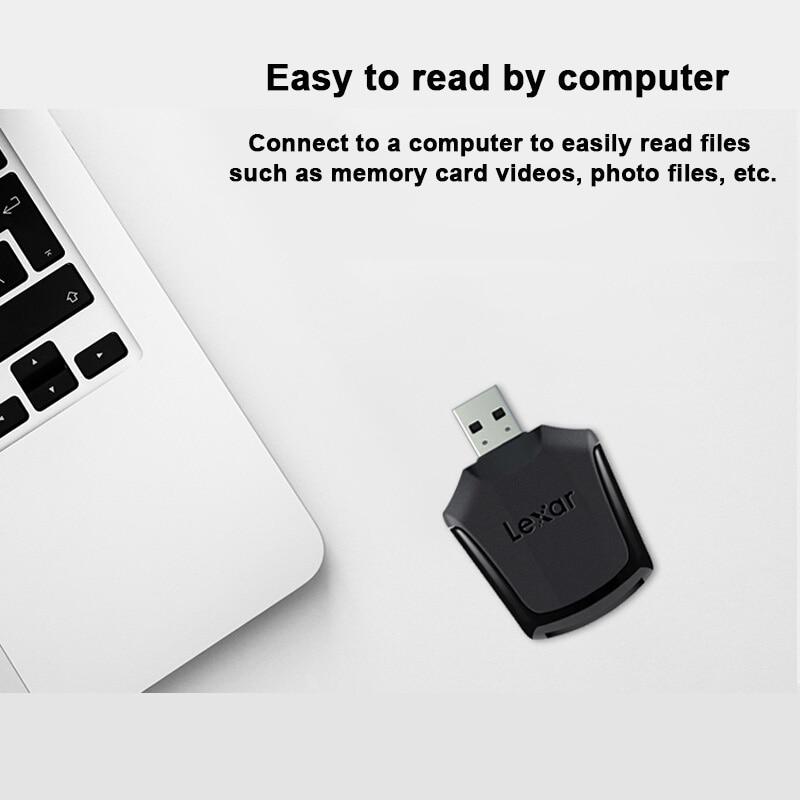 Image 3 - Lexar Professional XQD 2,0 смарт карта памяти SD Reader USB 3,0 высокоскоростной адаптер передачи необработанных изображений и 4K видеофайлов-in Считыватели карт памяти from Компьютер и офис