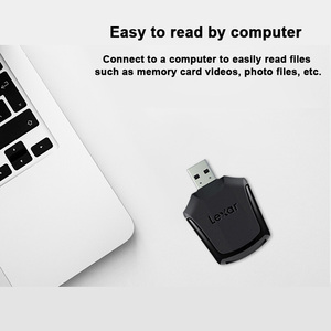 Image 3 - Lexar מקצועי XQD 2.0 חכם זיכרון SD כרטיס קורא USB 3.0 גבוהה מהירות העברת מתאם של תמונות 4K וידאו קבצים