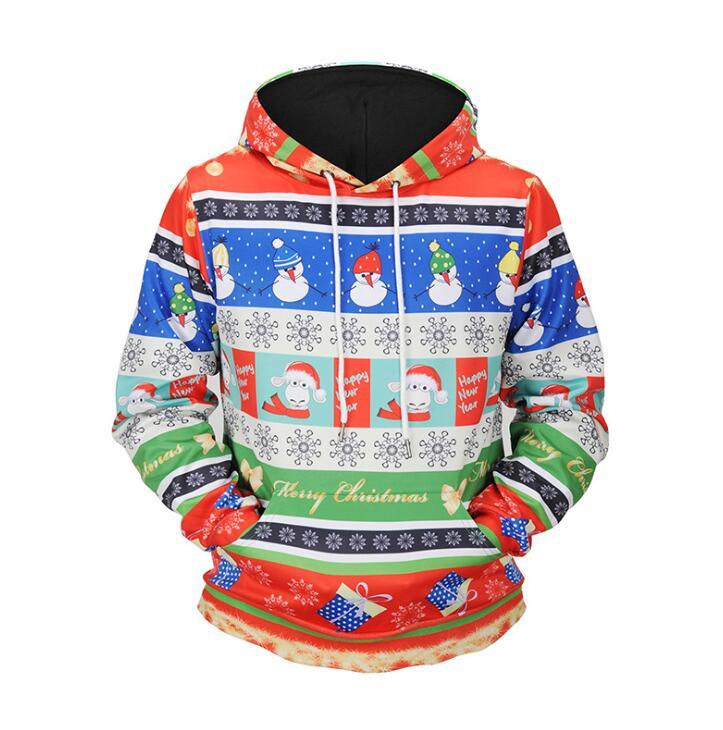 Новый дизайн модные наивысшего качества для мужчин толстовки на Лидер продаж Best подарок для Рождество