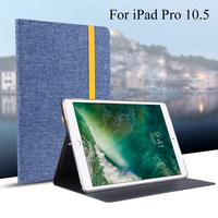 Case For IPad Pro 10 5 New 2017 Smart Cover Tablet Silicon Cloth PU Leather Sleep