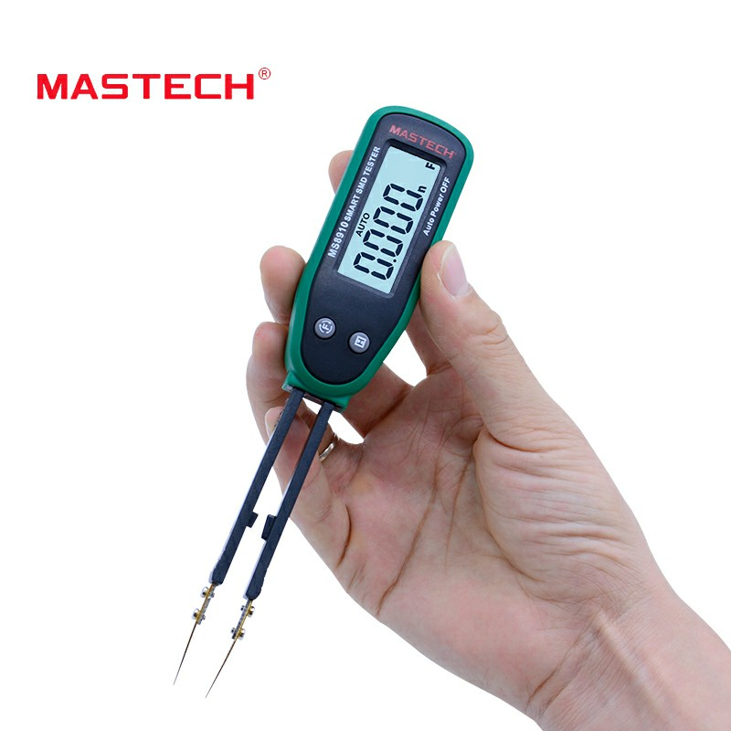 MASTECH MS8910 Smart SMD Tester Auto Scan Resistance Capacitance Diode Multi Tester Continuity Checking Function тестер mastech ms8910
