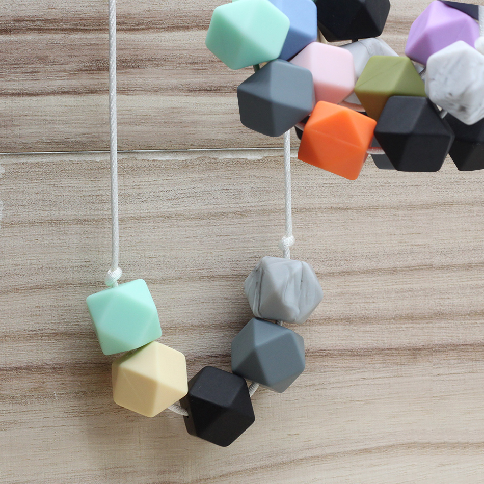 Best BPA Free Food Grade DIY Silicone Baby Chew Beads Teething Necklace Nursing Jewelry Chewable Teether for Mom Mun to Wear best bpa free food grade diy silicone baby chew beads teething necklace nursing jewelry chewable teether for mom mun to wear
