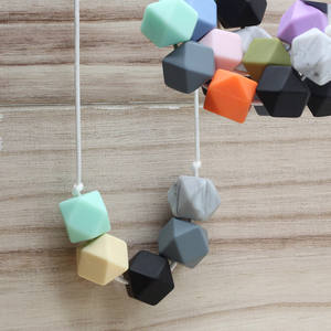 e4e96df23d5 IYQMOII Food Grade Silicone Baby Beads Teething Teether