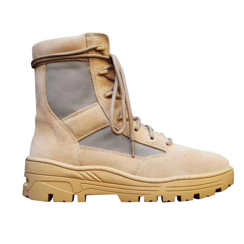 2017 new arrival mens season army boots platform cool