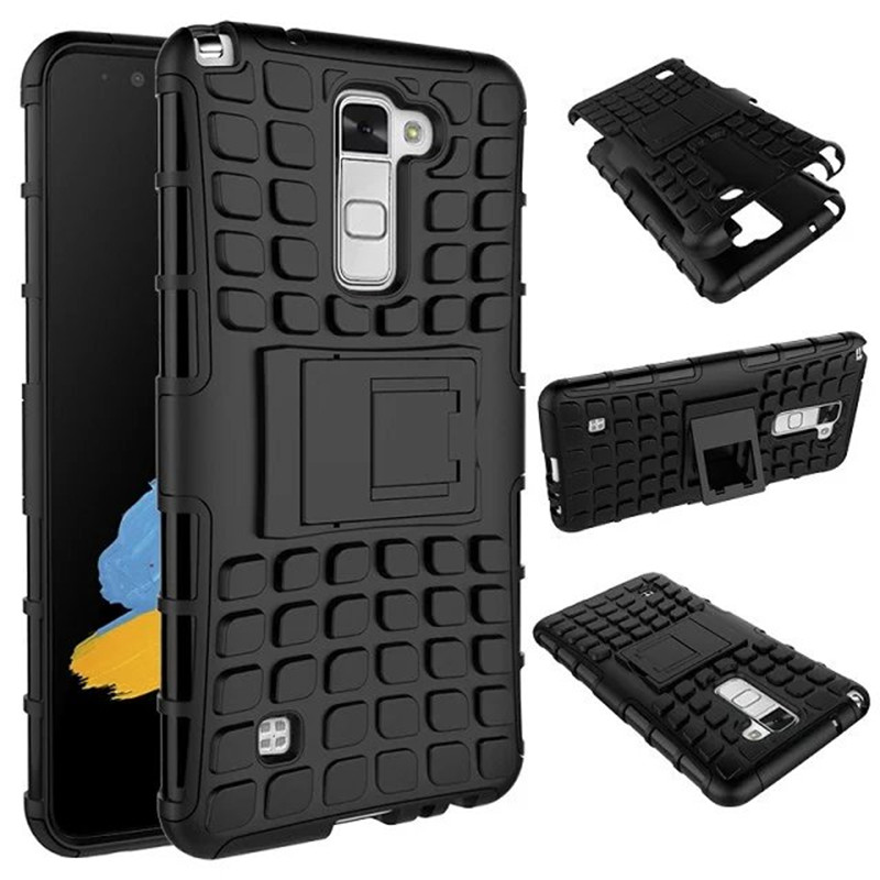 For <font><b>LG</b></font> Stylus 2 Stylus2 F720 Heavy Duty Armor Shockproof Rubber Hard Stand Fundas <font><b>Case</b></font> sFor <font><b>LG</b></font> <font><b>G</b></font> <font><b>Stylo</b></font> 2 LS775 K520 Covers <font><b>Cases</b></font> image
