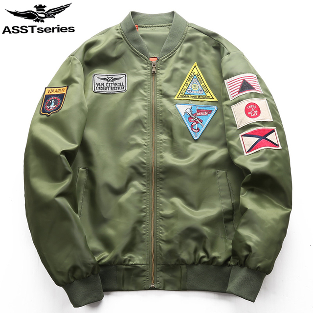 ac949e28bcc Military Tactical Bomber Jacket Men Mens Air Force MA1 Bombers Windbreaker  Varsity Flight Jacket Spring Coat Male militaire.BB49